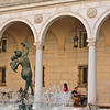 "<b>""Bacchante and Infant Faun""</b> - This fountain is in the courtyard of the Boston Public Library."