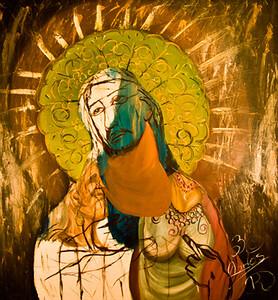 12. El Cristo de los Inocentes (51x48, Oil, $1500)