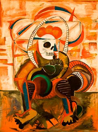 3. La Muerte del Gallo (36x48, Acrylic, NFS)