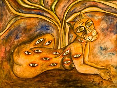 29. Sin Titulo (48x36, Acrylic, $900)