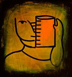 16. El Cocinero (26x24, Tempera, $400)
