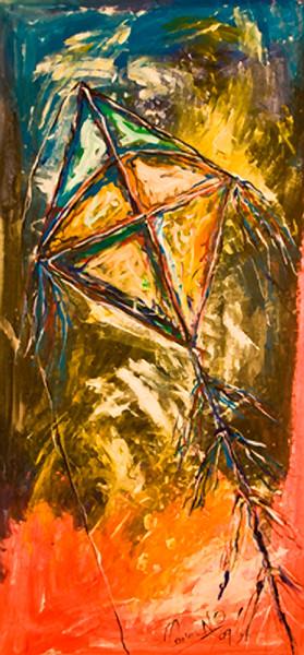 24. Papalote (26x54, Acrylic, $800)