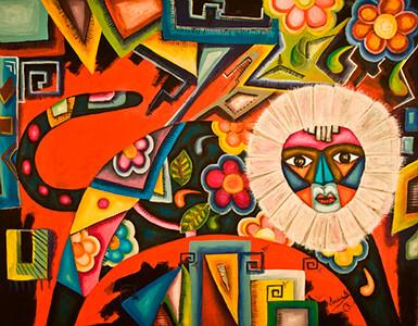 20. Belleza de Tehuantepec (48x38, Acrylic, $1400)