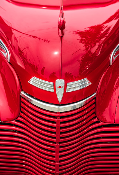 Red Chevy - Grill & Hood Ornament (1 of 1)
