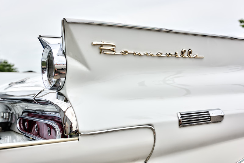 '59 Bonneville Logo on back fin (1 of 1)