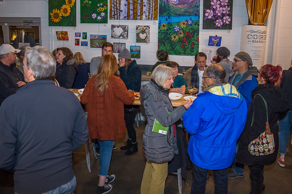 5 Year Anniversary & Book Release Party for the Art of Cheese at the St. Vrain Cidery in Longmont, Colorado on November 20, 2019.