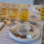 The Art of Cheese's Cheesemaking 101 and Cheese & Hard-Cider Pairings with special guests: BABY GOATS at St Vrain Cidery in Longmont, Colorado on April 18, 2017