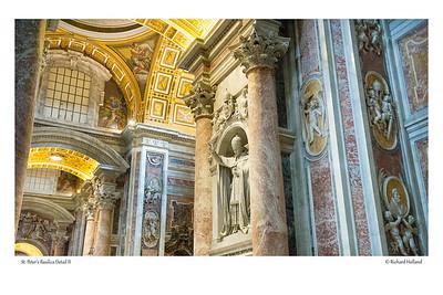 St. Peter's Basilica Detail II