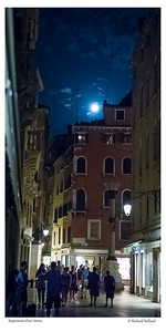 Supermoon Over Venice