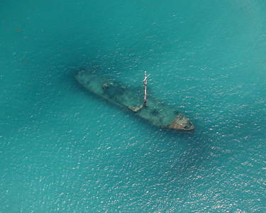 Shipwreck from the Seaplane