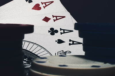 Good poker hand (Four Aces)