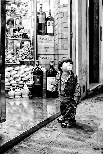 Youthful Indecision - Florence, Italy