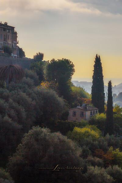 Morning Light - Saint-Paul-de-Vence, Nice, French Riviera