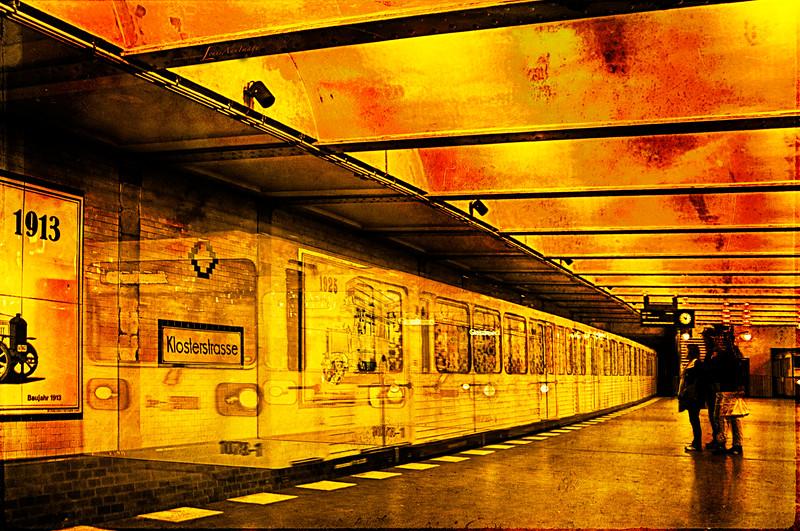 Klosterstrasse Station...