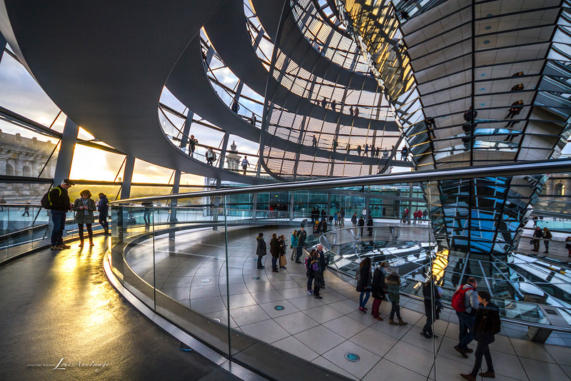 Circle of Light - Reichstag Dome..