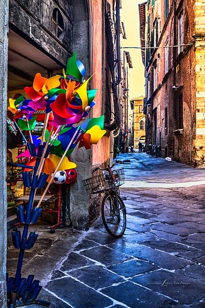 Luca, Tuscany, Italia