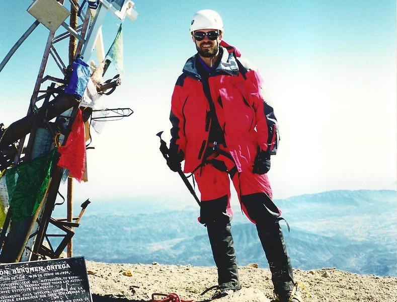 Summit of Pico de Orizaba, Mexico (18,600 ft)