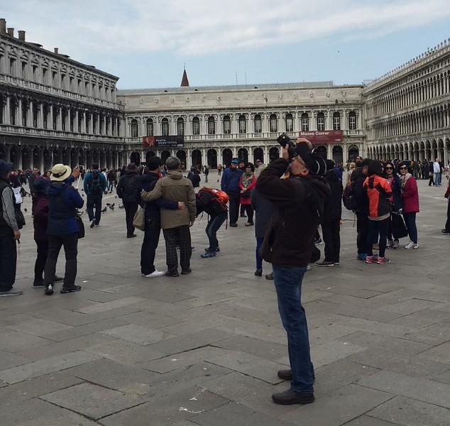 St. Mark's Square, Venice, Italy.