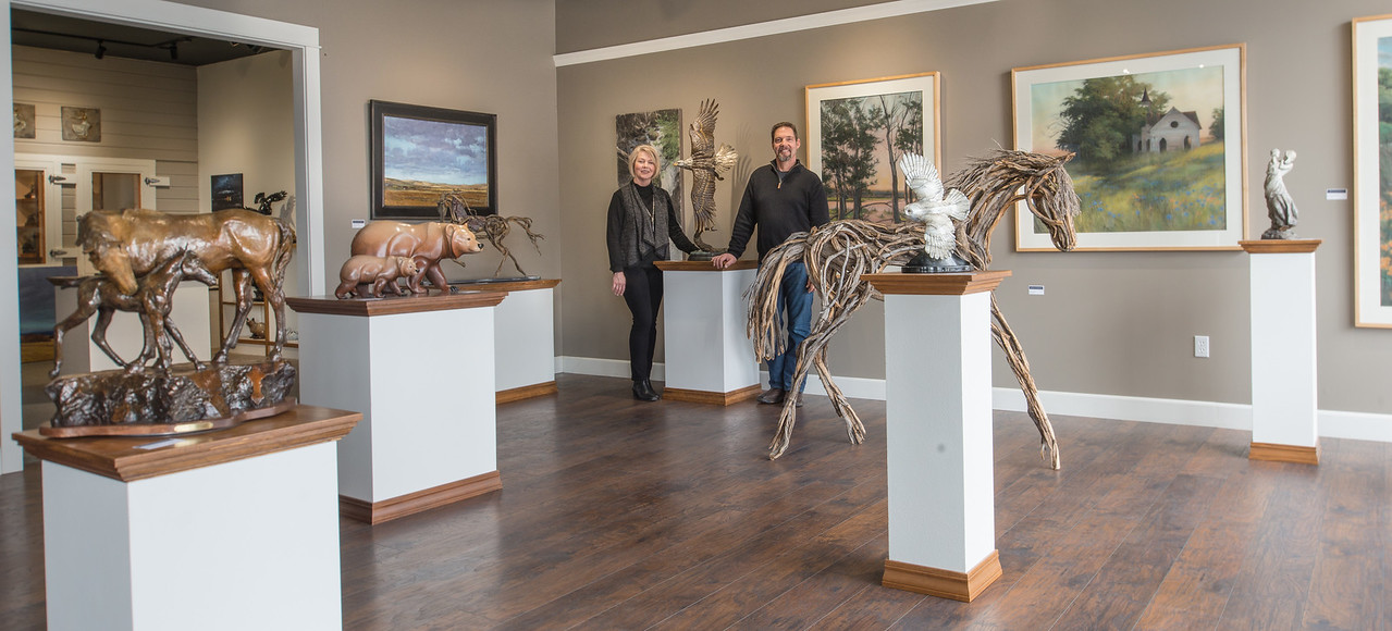 Malcolm and Tami Phinney opened the Phinney gallery of Fine Art in 2014. Their gallery is located on Joseph's South Main Street. They represent several talented Wallowa County artists  as well as artists from across the Northwest.