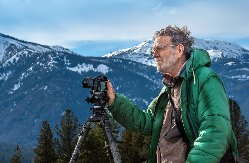 Photographer and mountaineer Dave Jensen was among the founders of the arts movement in Wallowa County.  His iconic images of the Wallowa Mountains, Hells Canyon, and Wallowa Lake and its moraines are in shown in both the Skylight and Valley Bronze galleries.  His photo assignments for National Geographic and other publications have taken him around the globe.