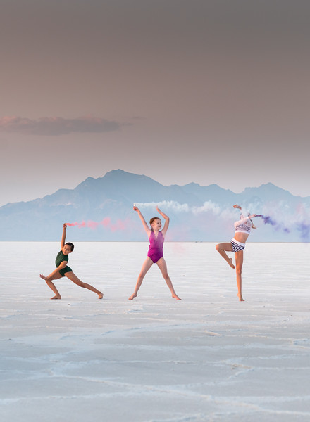 Salt Flats Smoke Dance-200