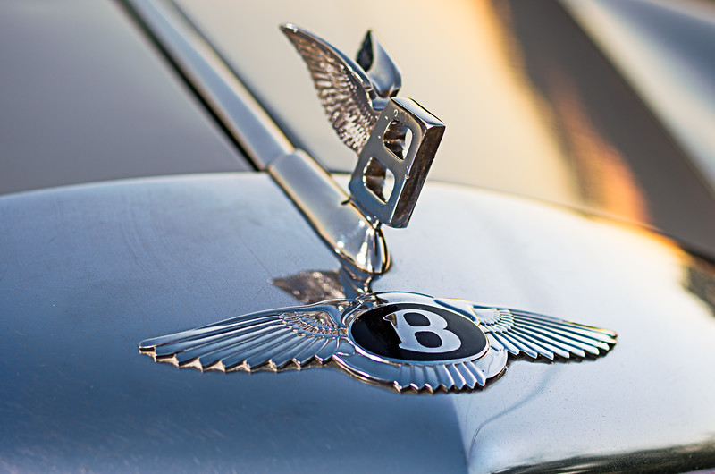Bentley hood ornament.
