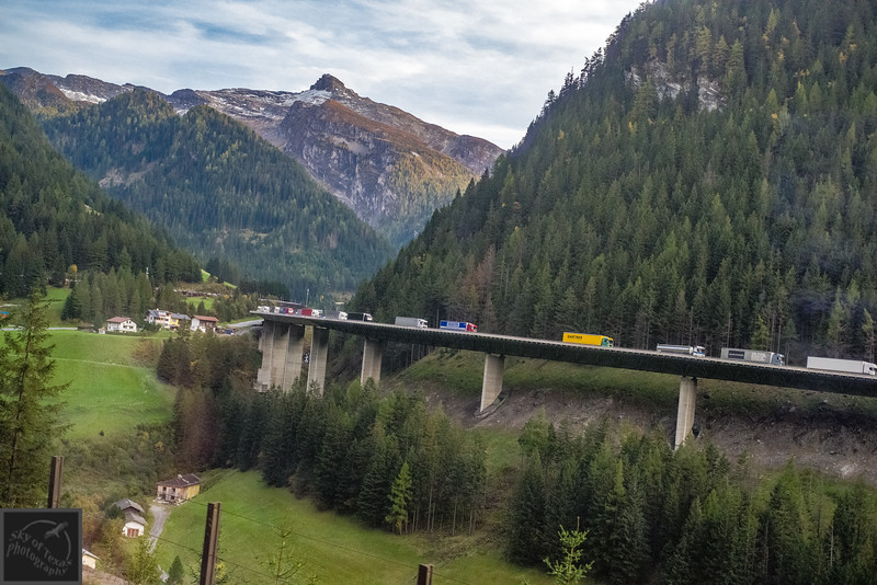 Through the Alto Adige to Austria.