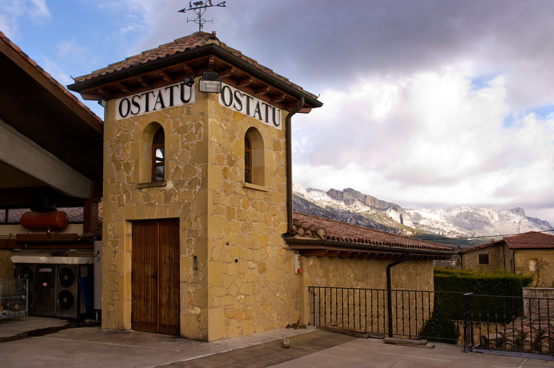 The Ostatu winery in Rioja.