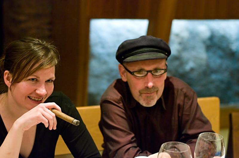 Angel and Jonathan at A Coroa.