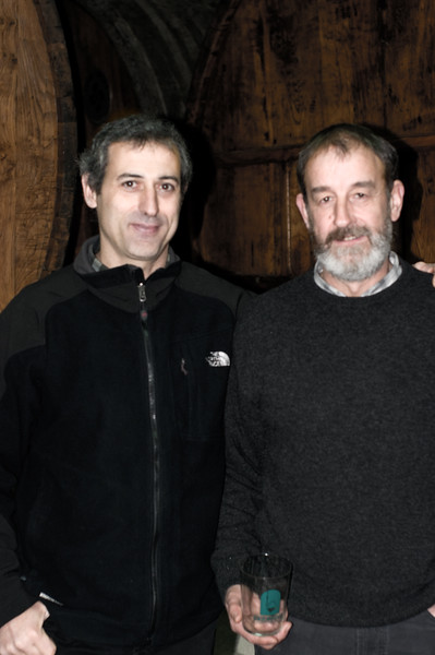 Winemaker and owner of Isastegi, a dry cider winery outside of Tolosa, Spain.