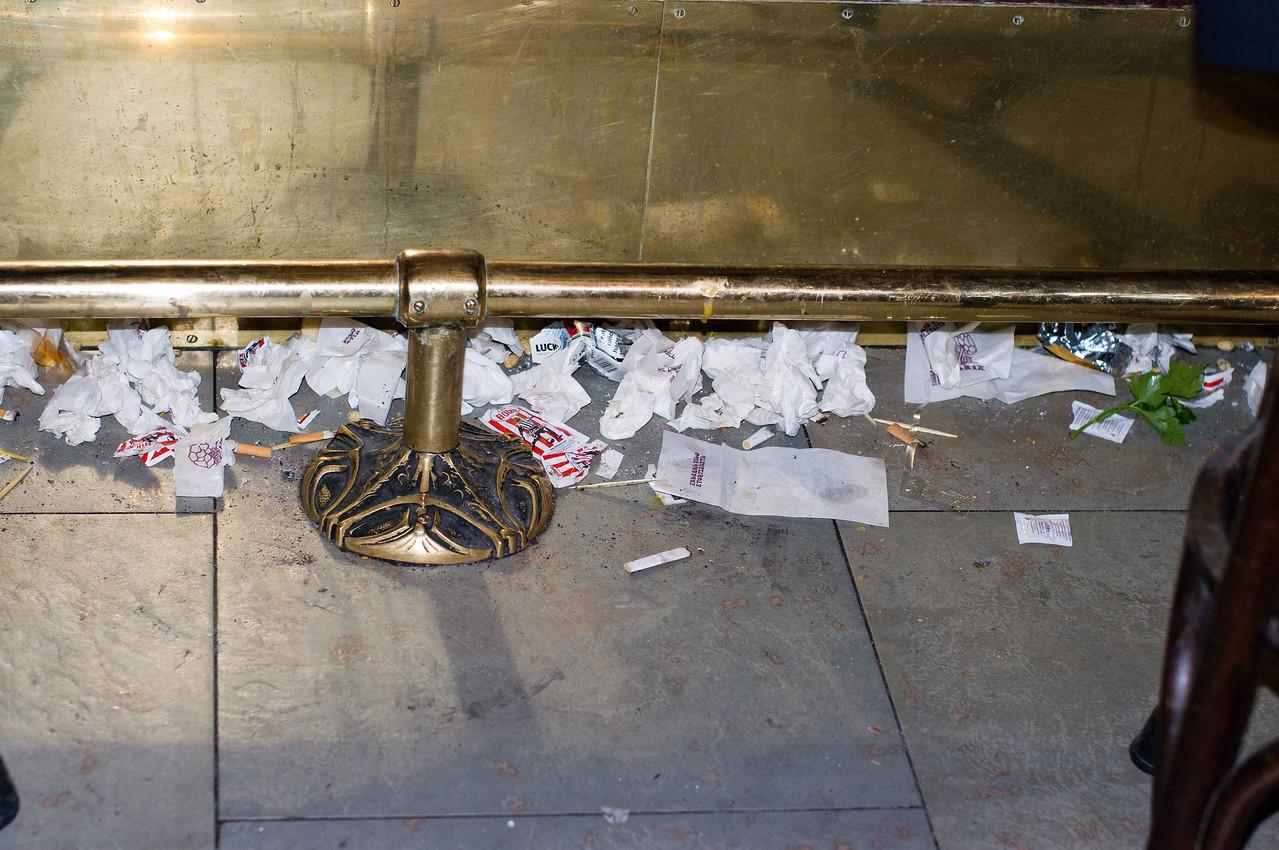 Trash Disposal in Spain.