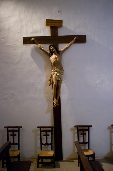 In the chapel of Conde de Hervais, Rioja.