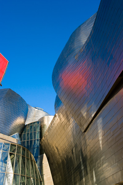 Guggenheim Museum in Bilbao, Spain. (Pentax K20D with DA 21mm lens.)