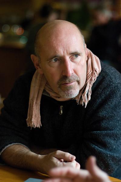 Jonathan Waters, sommelier of Chez Panisse Restaurant in Berkeley, CA.
