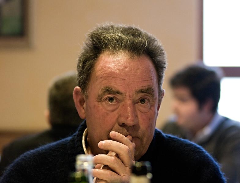 Doreteo Saenz de Samaniego. Owner of Ostatu in Rioja.