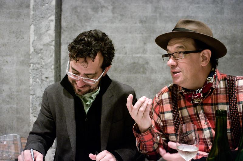 Andre Tammers and Roberto Ibarretxe Zorriketa.