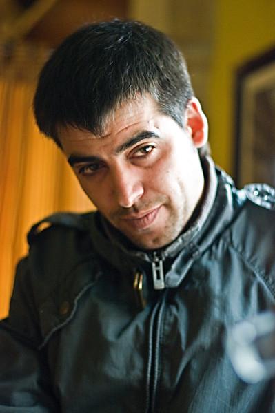 Antonio Palomo, owner of Garciarevalo winery.
