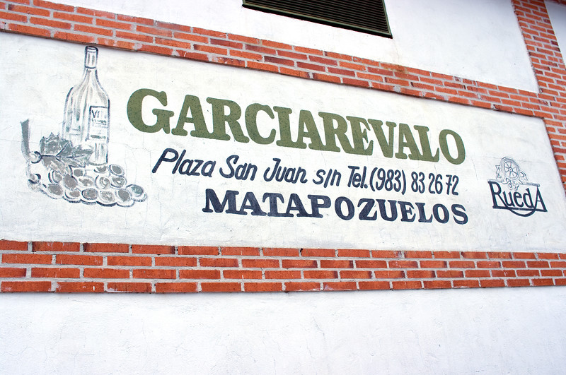 Garciarevalo in Rueda.