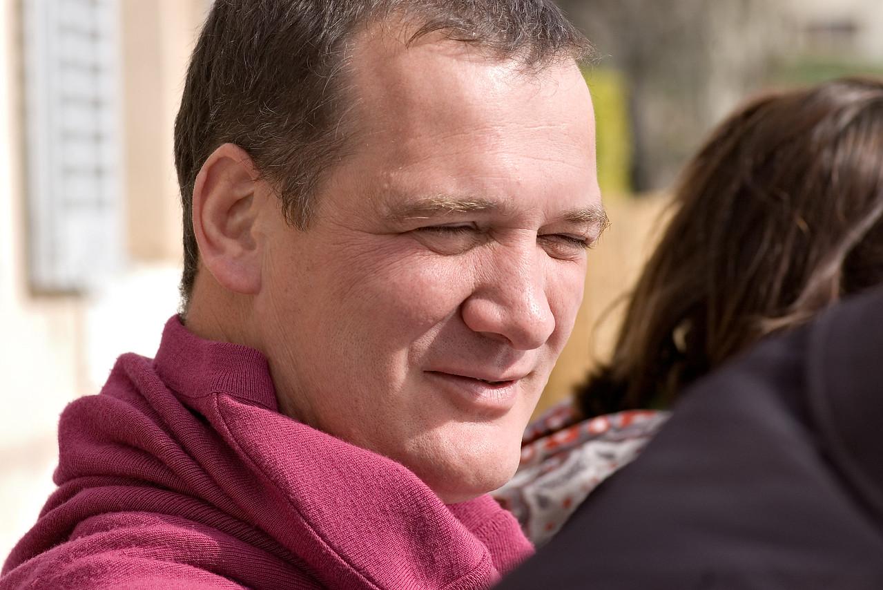Daniel Ravier, Domaine Tempier's estate manager.