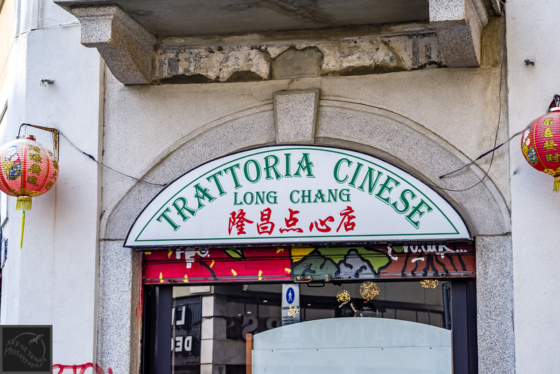 Trattoria Chinese in the Chinatown district of Milan.