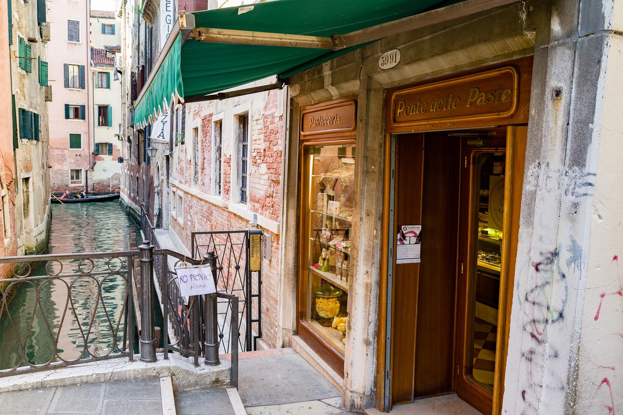 Window shopping in Venice.
