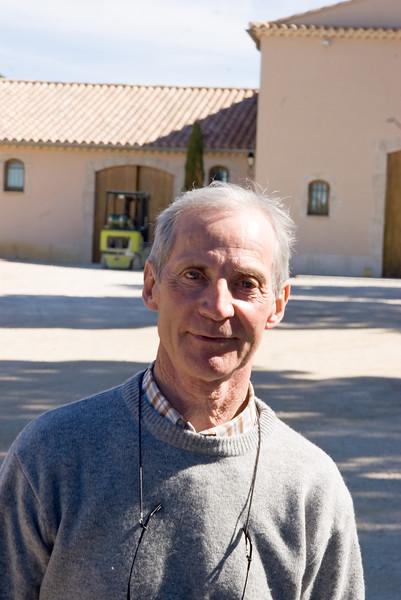 Bernard Leydier of Domaine de Durban, Beaumes de Venise.
