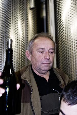 Michel Colin of Domaine Colin-Deleger, Chassagne-Montrachet.