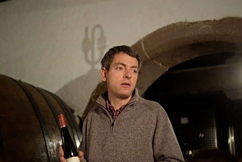 Felix Meyer of Domaine Meyer-Fonne, Ingersheim, Alsace.