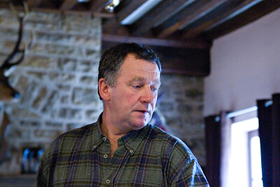 Regis Bouvier of Domaine Regis Bouvier, Marsannay.