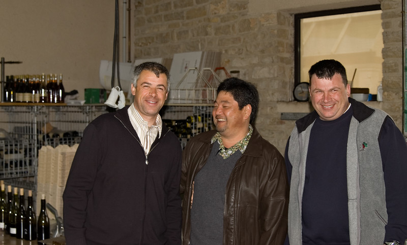Bertrand Chevillion (left) & Denis Chevillion (right) of Domaine Robert Chevillon, Nuits St. Georges.