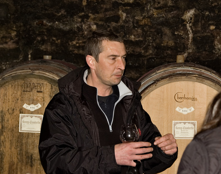 Bertrand Maume of Domaine Maume, Geverey-Chambertin.
