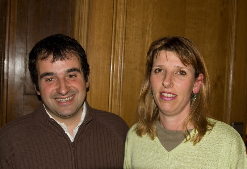 Anne-Marie and Jean Claude Vincent of Domaine Vincent, Pouilly Fuisse.