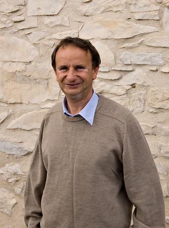 Jeanl-Benoit Cavalier of Chateau de Lascaux, Pic Saint Loup/Coteaux du Languedoc.