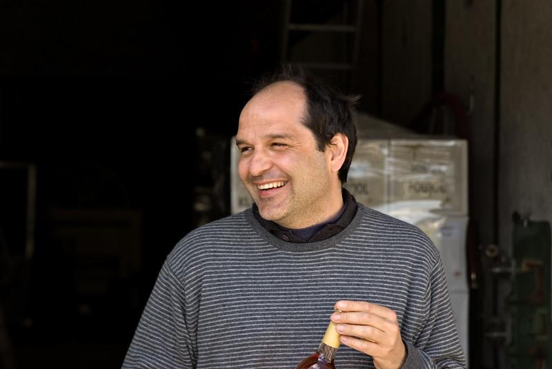 Robert Cripps of Domaine du Poujol, Coteaux du Languedoc.